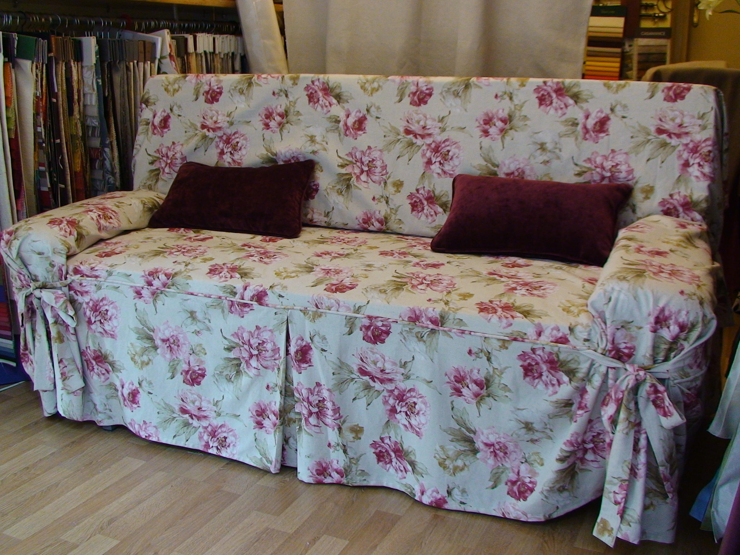 funda sof tela estampada a elejir