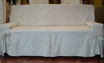 Fundas para sof tapicer as altara barcelona - Como hacer una funda para un sofa ...